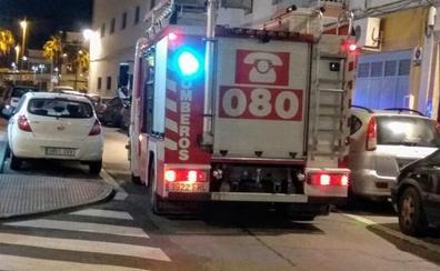 Identificados dos menores de 13 años como presuntos autores del incendio en el colegio de Rioja