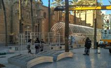 Almería desmonta la Navidad