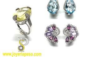 La elegancia de la joyería en plata con piedras naturales