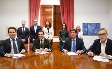 PP y Cs quieren que el pleno de investidura del próximo presidente de Andalucía sea este lunes 14
