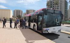 Los usuarios del servicio de bus urbano de Almería aumentaron un 3,4% en 2018