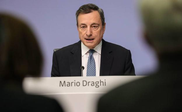 El presidente del Banco Central Europeo, Mario Draghi./Efe
