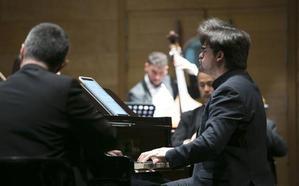 El pianista motrileño Juan Carlos Garvayo y el compositor Manuel Martínez Burgos homenajean a Lorca con un concierto en Badajoz