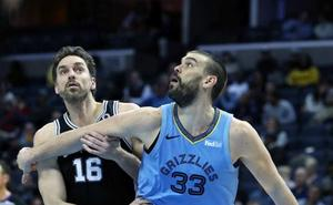 Marc Gasol y Nikola Mirotic lideran el triunfo de los Grizzlies y de los Pelicans