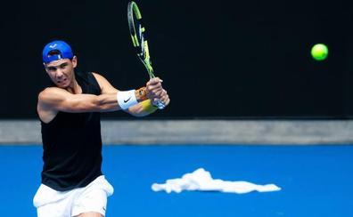 Nadal debutará en Australia contra Duckworth y Muguruza ante Zheng
