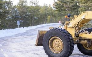 Diputación activa el protocolo de invierno en las carreteras por el frío