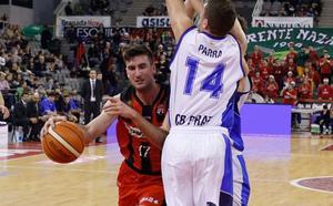 Joan Pardina será baja ante el Palencia por prescripción médica