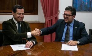 Serrano anuncia una «oposición leal» de Vox en la nueva legislatura andaluza