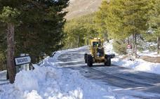 Diputación activa el protocolo invernal para el mantenimiento de las carreteras provinciales