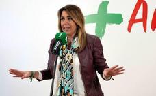 Susana Díaz comparece en rueda de prensa tras renunciar a la investidura