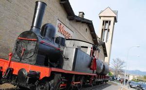 Rioja fleta un tren a Nueva York