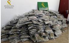 El mayor alijo en España: 25 detenidos con 2.700 kilos de marihuana