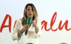 Susana Díaz anuncia que pretende repetir como candidata cuando haya nuevas elecciones