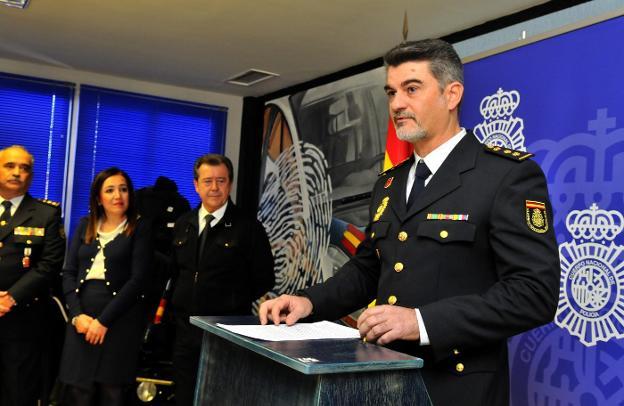 El nuevo comisario, Adriano José Rubio Martínez. :: enrique/