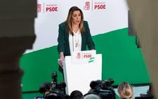Susana Díaz, dispuesta a repetir como candidata para recuperar la Junta