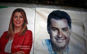 El traspaso de poderes en la Junta de Andalucía implicará el nombramiento de 660 cargos