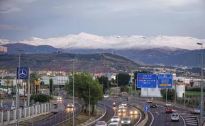 Empieza hoy el corte de tráfico en la A-44 que durará dos meses por las obras de Variante Exterior de Granada