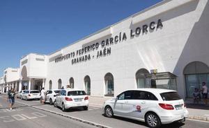 El aeropuerto de Granada creció casi un 25 % en 2018, su mejor año desde 2009