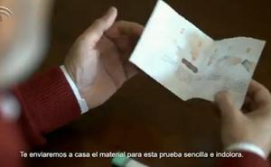 La carta que vas a recibir si eres andaluz y tienes entre los 50 y los 69 años para la detección del cáncer de colon