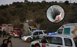 Entubarán el pozo donde buscan al niño de 2 años en Málaga y harán otro orificio paralelo