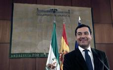 Arranca la investidura de Moreno mientras se ultima el reparto de poder entre PP y Cs