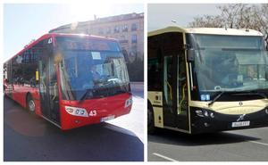 Dos autobuses 'jubilados' de Sevilla para la 33