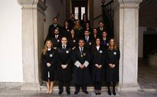 Dieciséis nuevos jueces toman posesión de sus cargos