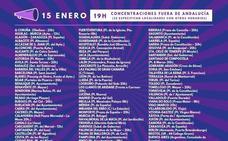 Un centenar de ciudades de fuera de Andalucía se suman a las protestas feministas de hoy
