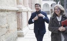 Marín considera «correcto y tranquilizador» el discurso de Moreno