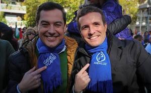 Las últimas promesas de Moreno Bonilla en Granada durante la campaña