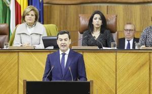 Juanma Moreno Bonilla presenta el gobierno del cambio con el empleo como objetivo prioritario