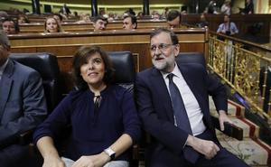 Rajoy, Casado y Santamaría acudirán el viernes a la toma de posesión de Moreno como presidente de la Junta
