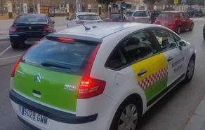 La Policía Local advierte de que el coche 'ponemultas' anda suelto por Jaén