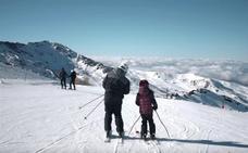 Sierra Nevada celebra el Día Mundial de la Nieve con la apertura total de la pista Universiada