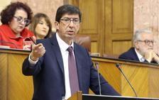 Marín avisa a Moreno: «Es un reto histórico y espero que cumpla lo firmado»