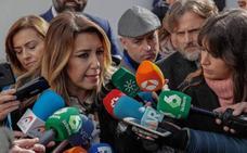 Susana Díaz: «El PSOE sabe que tenemos la responsabilidad de frenar a la extrema derecha»
