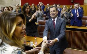 Juanma Moreno, nuevo presidente de Andalucía