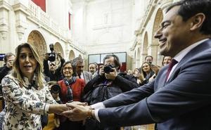 Cambio histórico en la Junta de Andalucía