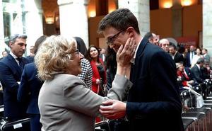 La alianza de Errejón con Carmena rompe Podemos y lo coloca al borde de la expulsión