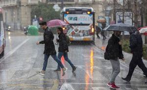 Fin de semana pasado por agua en Granada: ¿cuándo empezará a llover?