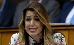 Susana Díaz muestra su apoyo a la activista transexual de Granada en huelga de hambre