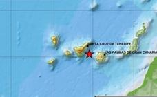Terremoto en Canarias de magnitud 4,2 entre Gran Canaria y Tenerife