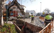 Comienzan las obras del nuevo colector de la plaza Einstein