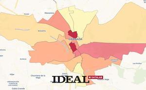 Un granadino de la Zona Norte gana 10.000 euros menos que uno del Centro