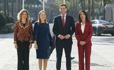 Las imágenes de la toma de posesión de Moreno Bonilla como presidente de la Junta de Andalucía
