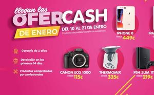 Cash Converter lanza sus rebajas con las Ofercash de enero