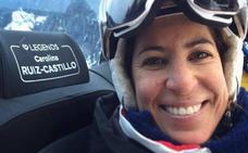 La silla de Carolina Ruiz, en Méribel