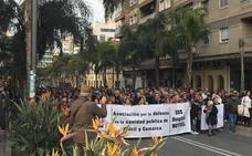 Cientos de personas salen a la calle en Motril para pedir una sanidad pública «digna»