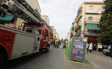 Así ha sido la actuación de los bomberos en el incendio de la Chana