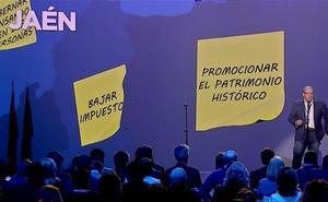 Márquez muestra su «orgullo» por ser el alcalde de Jaén y afirma que uno de sus grandes objetivos será «promocionar nuestro patrimonio histórico»